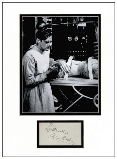 Colin Clive Autograph Signed - Frankenstein